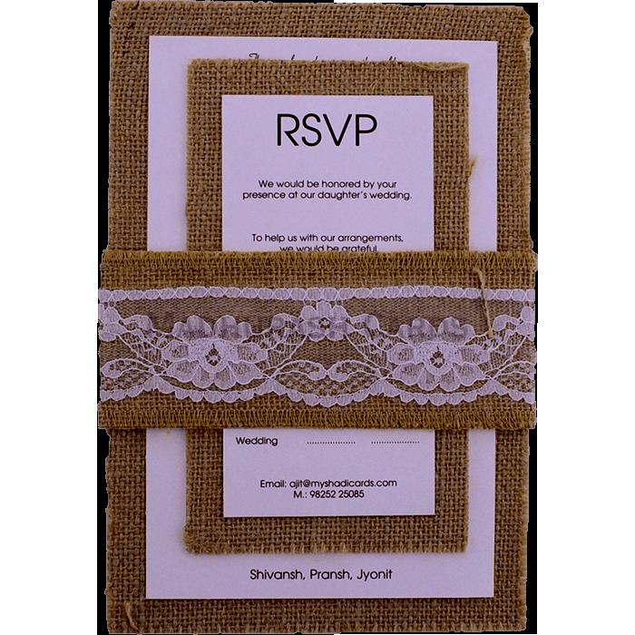 Custom Wedding Cards - CZC-9422 - 4