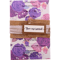 Custom Wedding Cards - CZC-9423