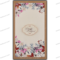 Kraft Wedding Invitations - KWC-8828