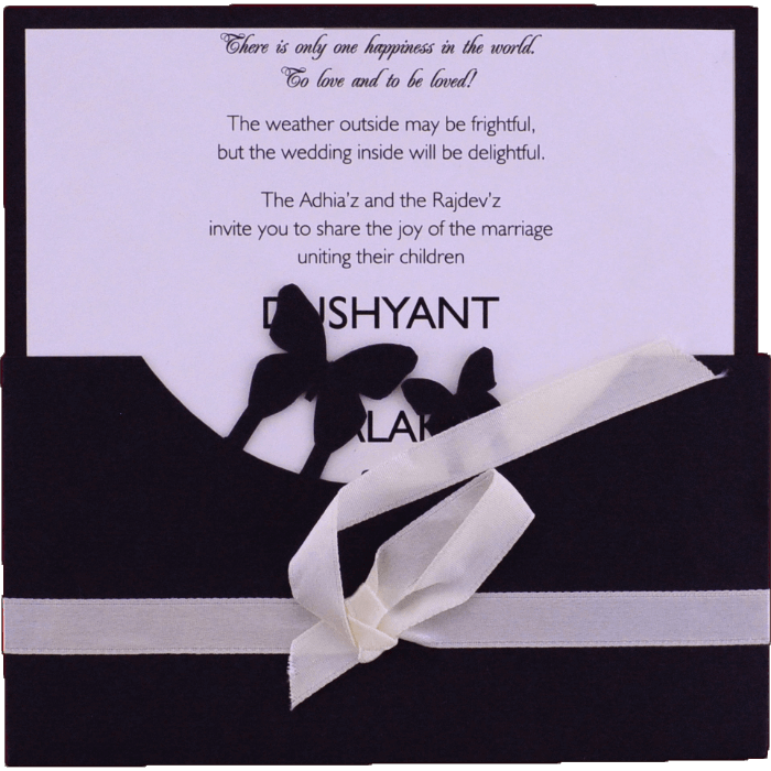 Custom Wedding Cards - CZC-9537 - 3