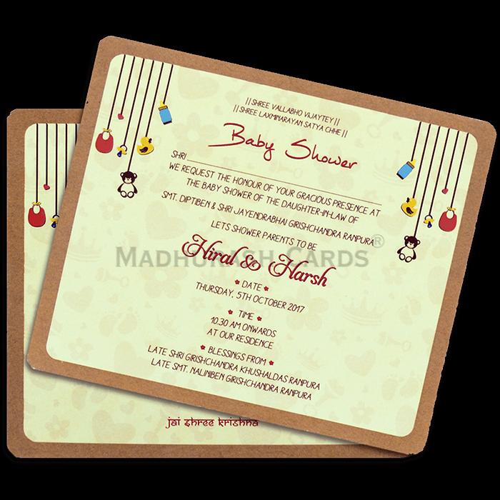 test Custom Wedding Cards - CZC-9511