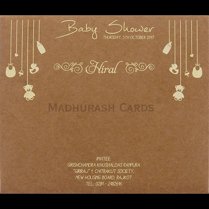 Custom Wedding Cards - CZC-9511 - 3