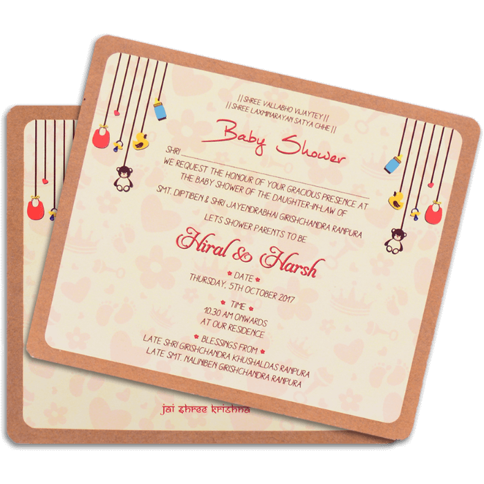 Kraft Wedding Invitations - KWC-9511 - 4