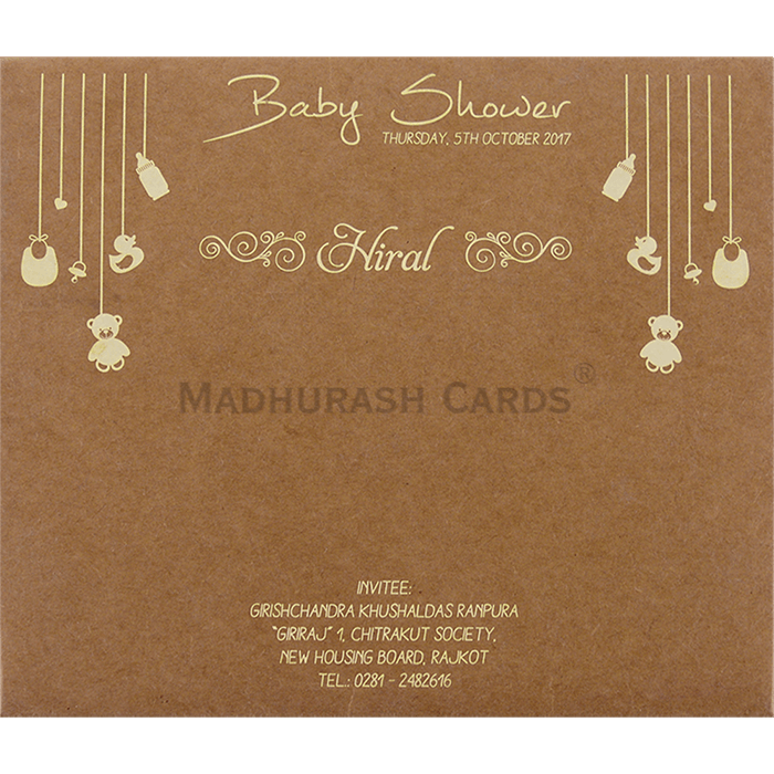 Baby Shower Invitations - BSI-9511 - 3