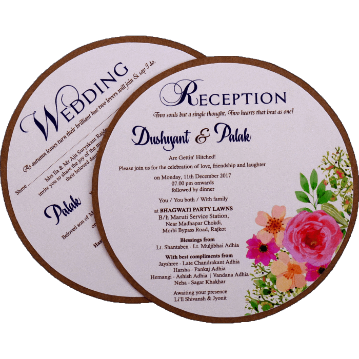test Custom Wedding Cards - CZC-9483