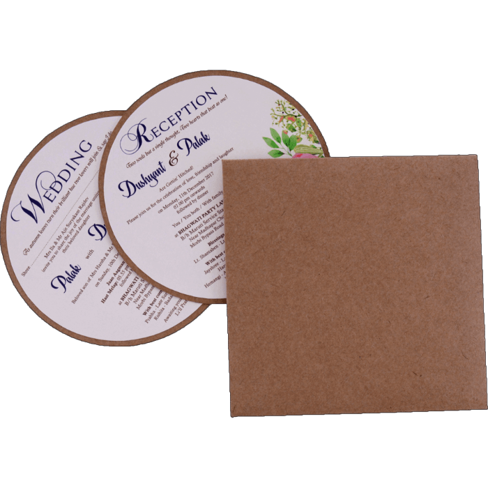Custom Wedding Cards - CZC-9483 - 4