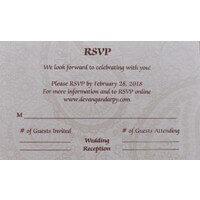 RSVP Cards - RSVP-116