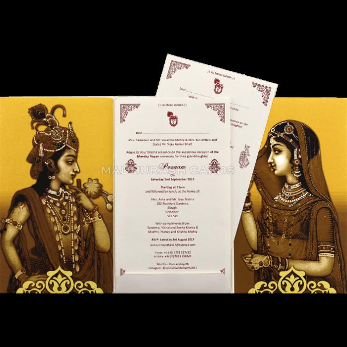 Custom Wedding Cards - CZC-9432 - 4