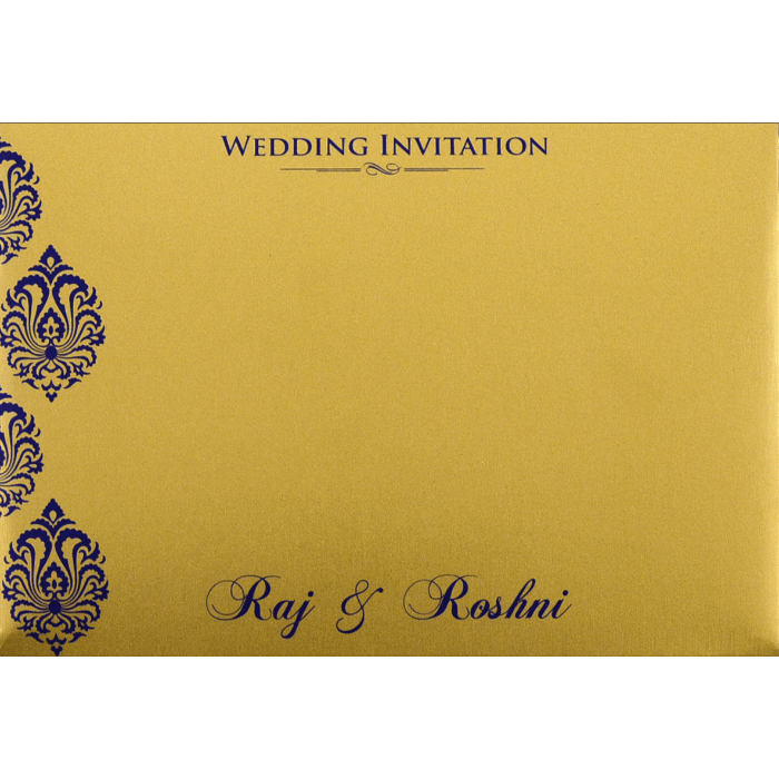 Custom Wedding Cards - CZC-9097 - 5
