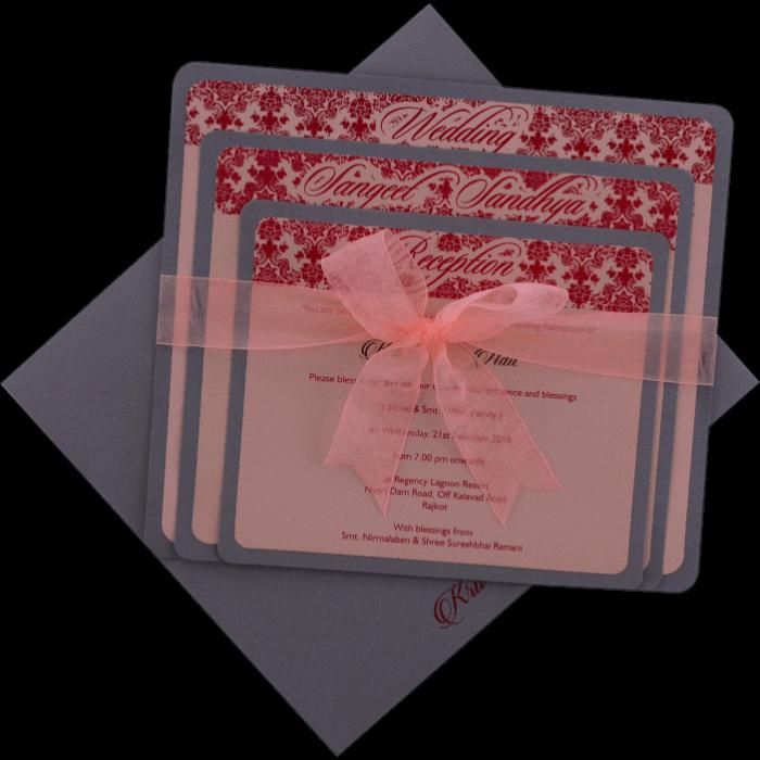 test Custom Wedding Cards - CZC-9098