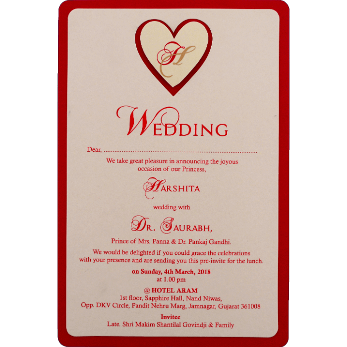 Engagement Invitations - EC-9543R - 4