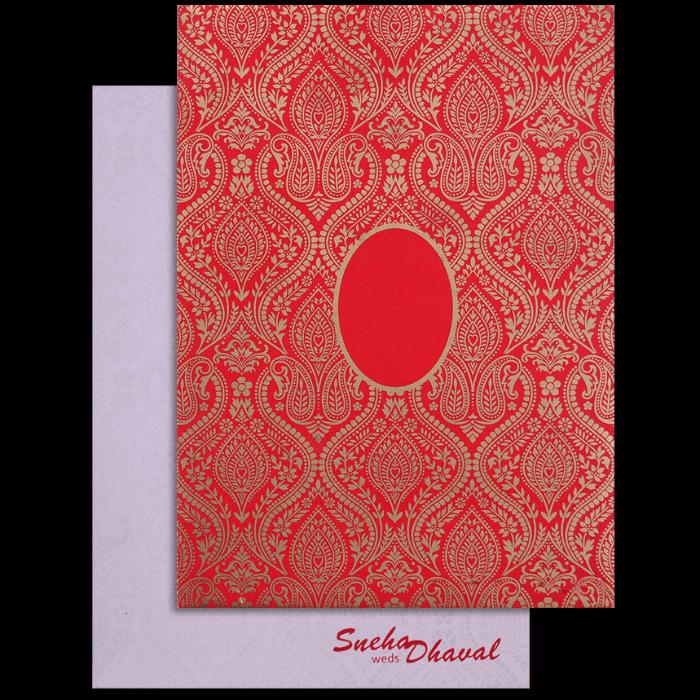 Muslim Wedding Cards - MWC-17082
