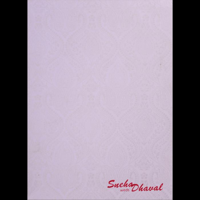 Muslim Wedding Cards - MWC-17082 - 4