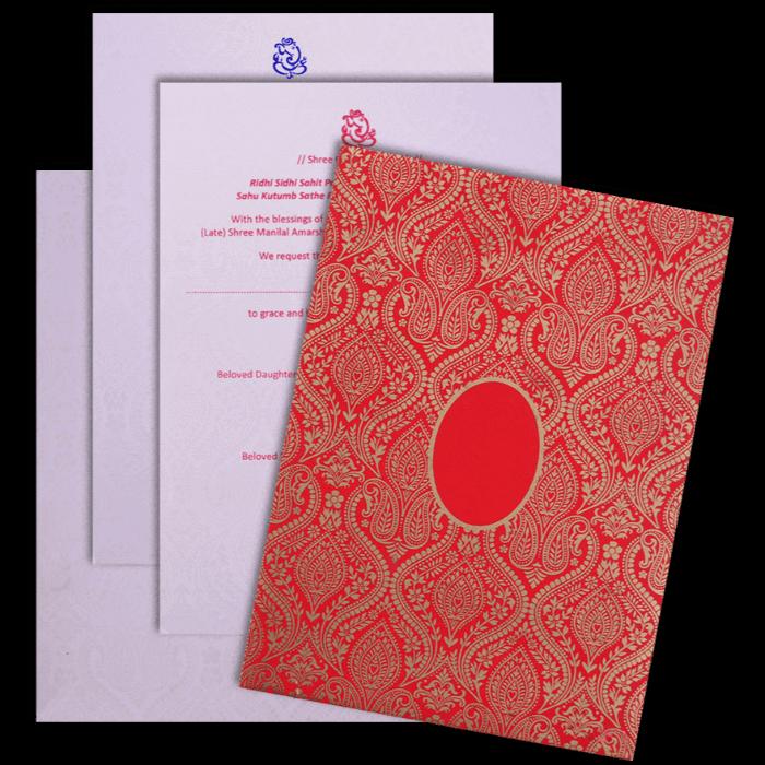 Muslim Wedding Cards - MWC-17082 - 5