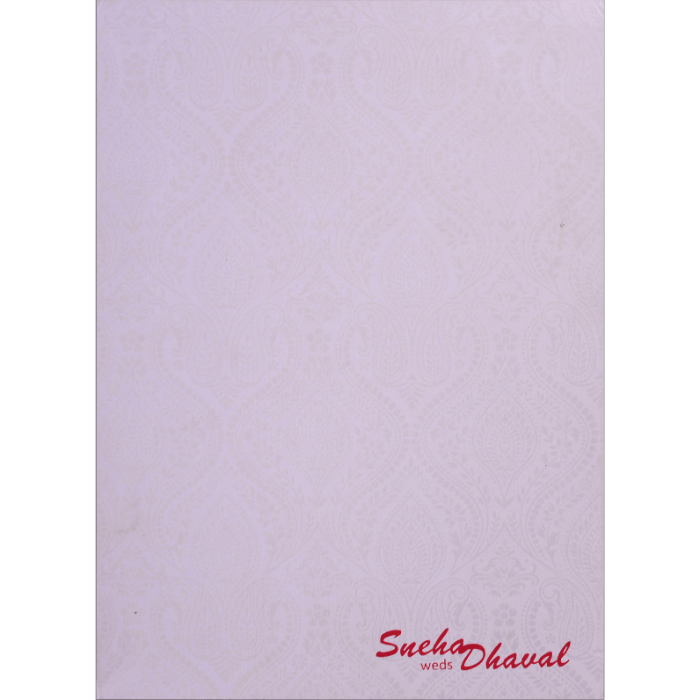 Hindu Wedding Cards - HWC-17082 - 4
