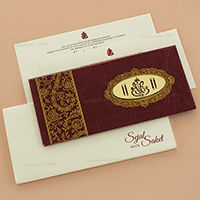 Hard Bound Wedding Cards - HBC-14116