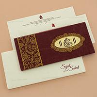 Hard Bound Wedding Cards - HBC-14116