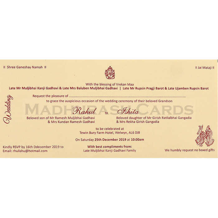 Thread Ceremony Invites - TCI-14116 - 5