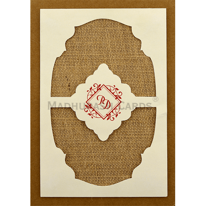 test Kraft Wedding Invitations - KWC-8860