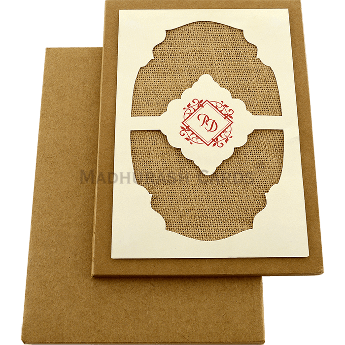 Kraft Wedding Invitations - KWC-8860 - 3