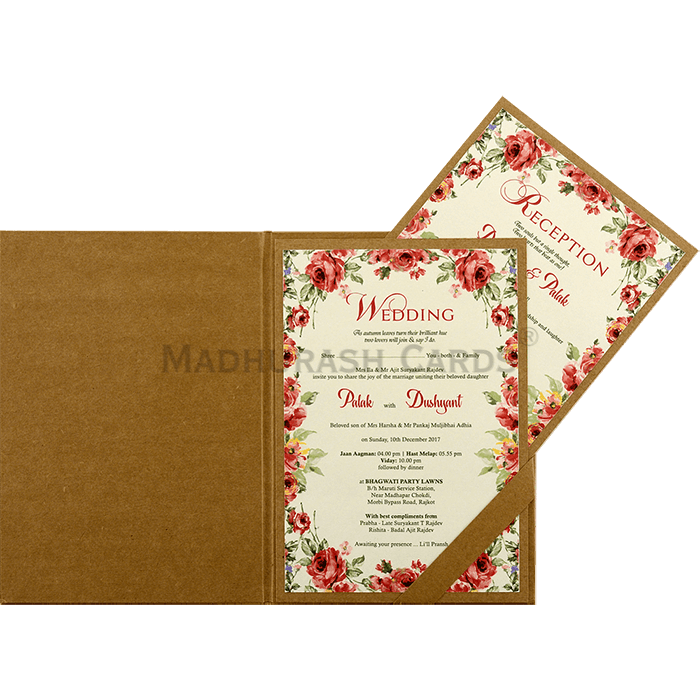 Kraft Wedding Invitations - KWC-8860 - 4