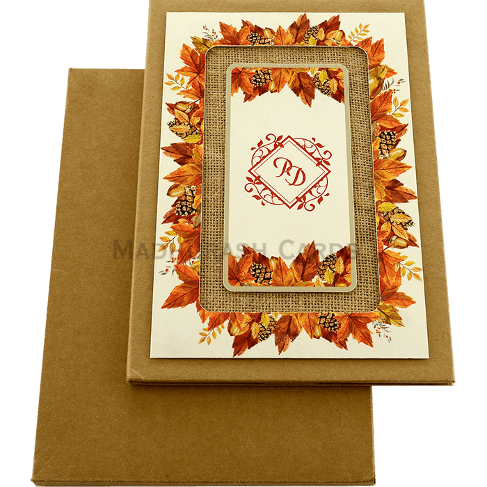Kraft Wedding Invitations - KWC-8858 - 3