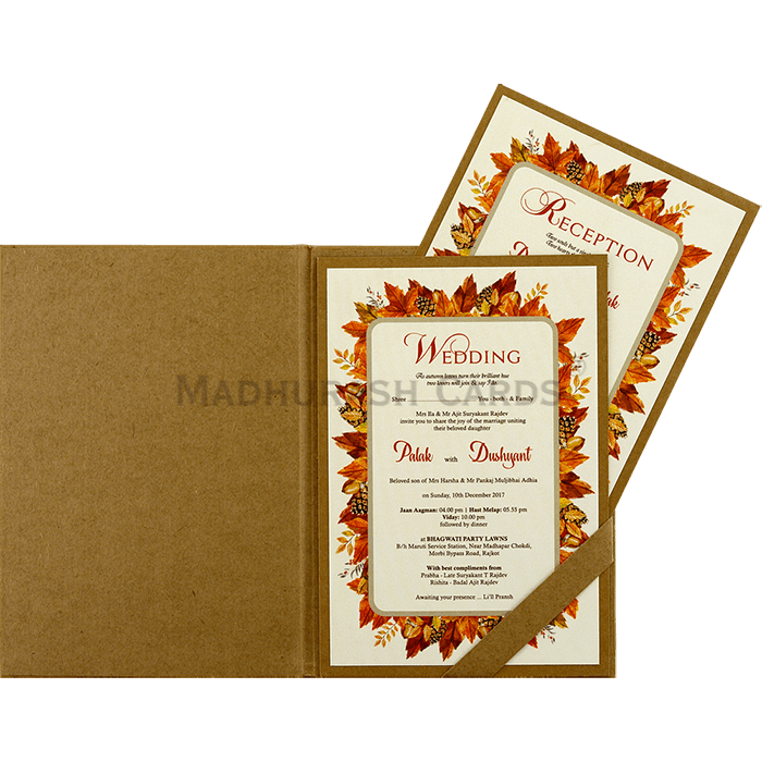Kraft Wedding Invitations - KWC-8858 - 4