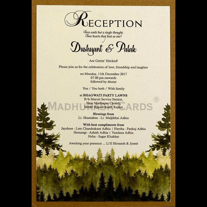 Kraft Wedding Invitations - KWC-8859 - 5