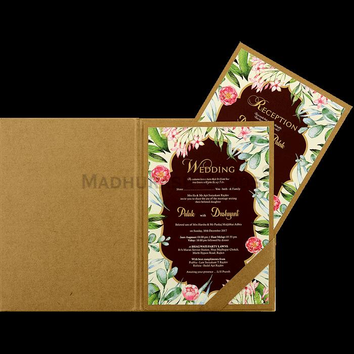 Kraft Wedding Invitations - KWC-8856 - 4
