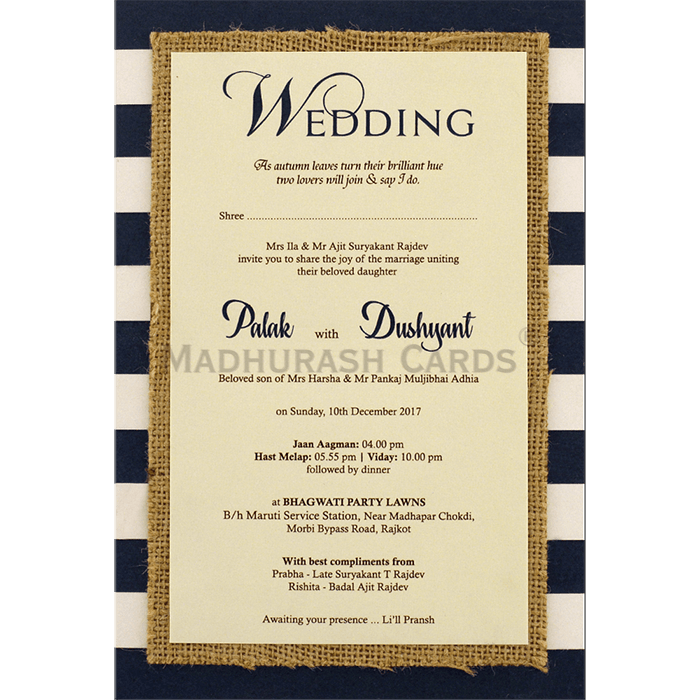 Kraft Wedding Invitations - KWC-9473 - 5