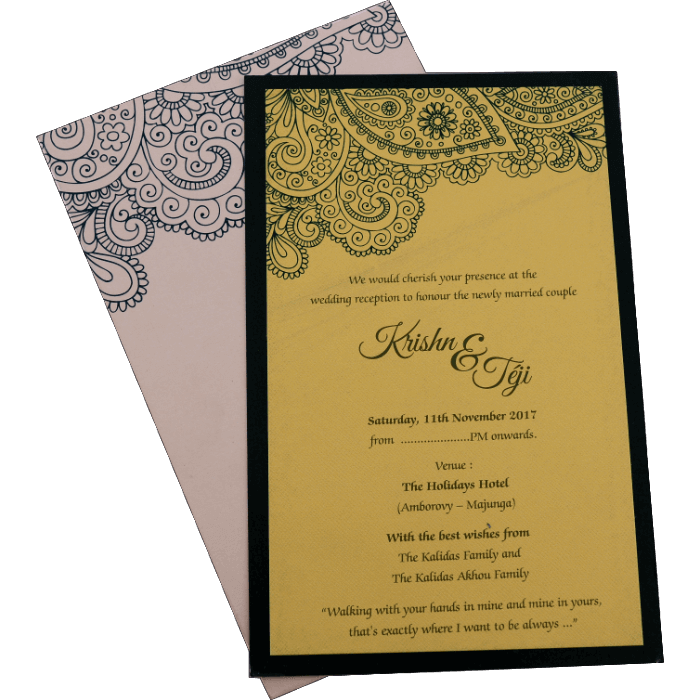 test Inauguration Invitations - II-9785