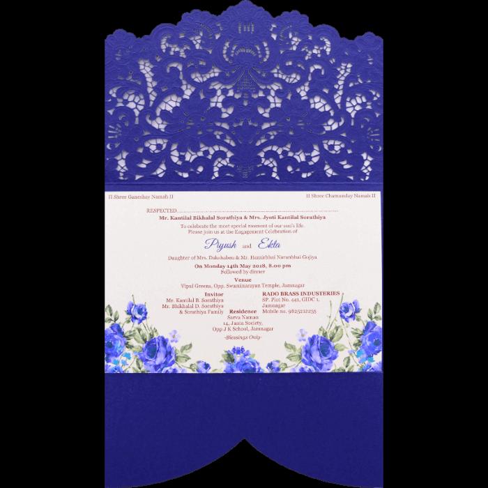 Custom Wedding Cards - CZC-9466 - 3