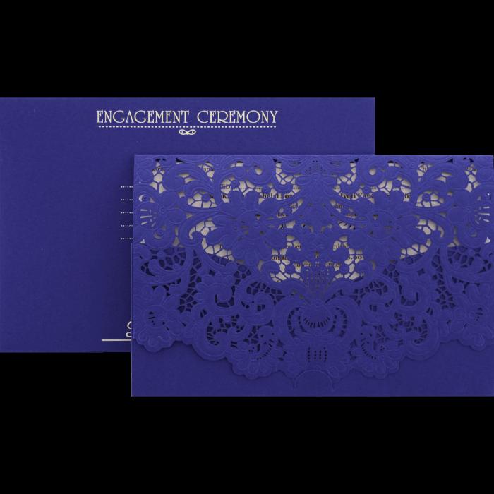 Custom Wedding Cards - CZC-9466 - 5