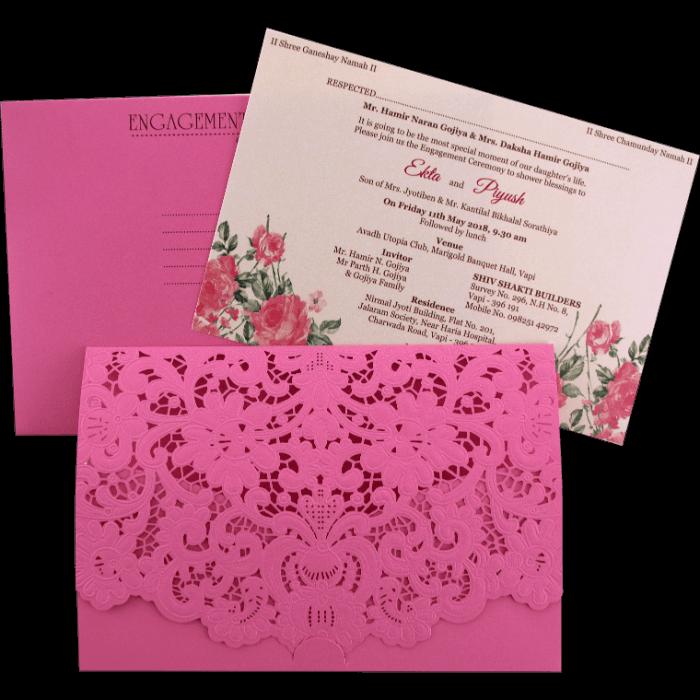 test Custom Wedding Cards - CZC-9466P