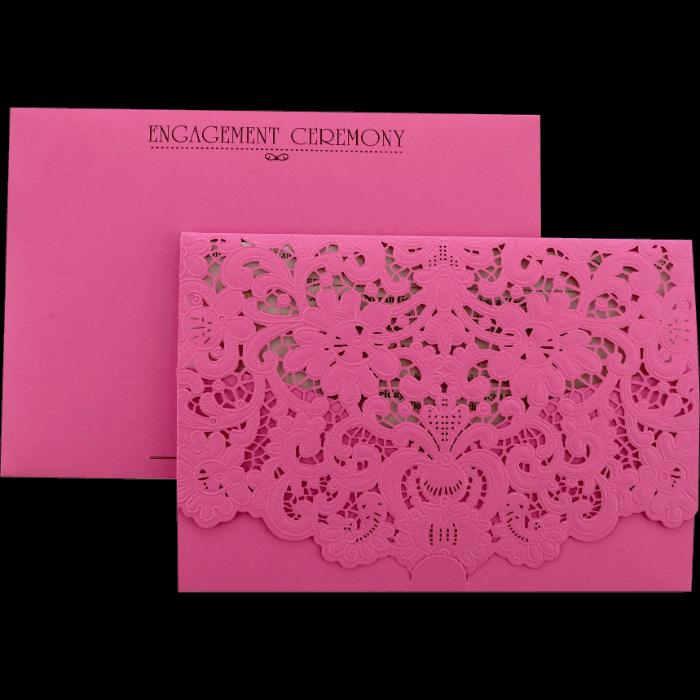 Custom Wedding Cards - CZC-9466P - 5