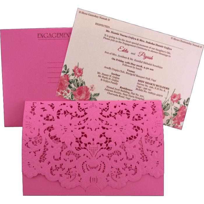 test Laser Cut Invitations - LCC-9466P