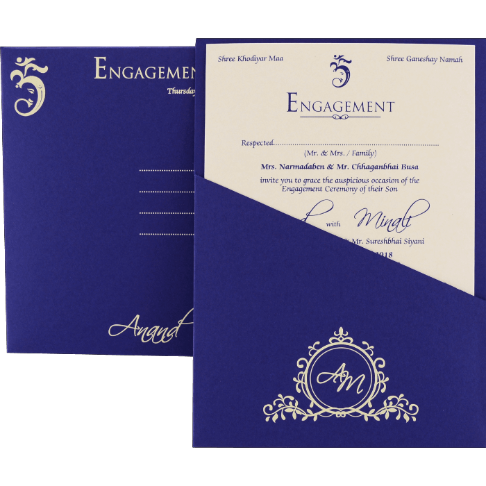Engagement Invitations - EC-9525 - 3