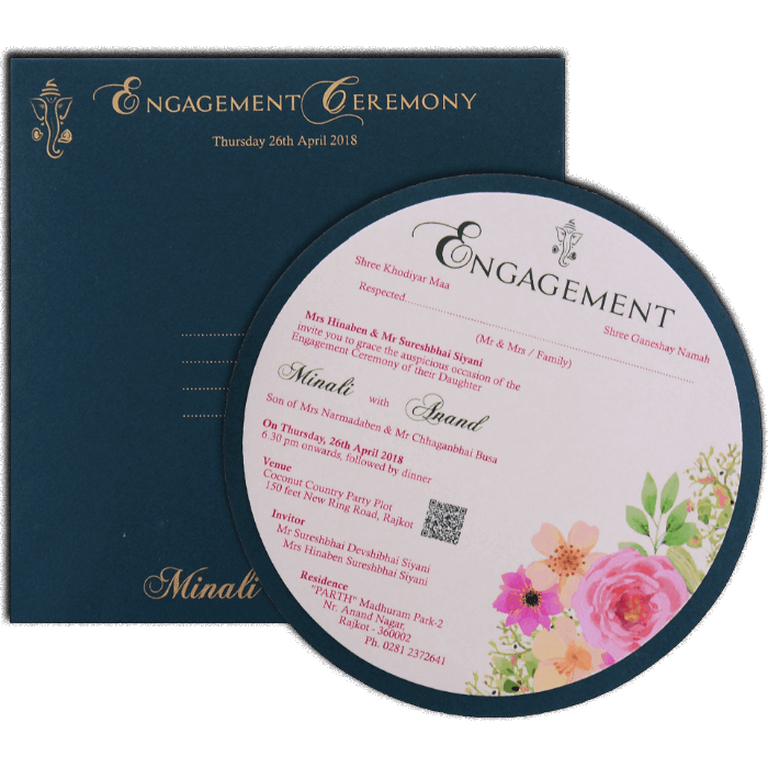 Engagement Invitations - EC-9526 - 3