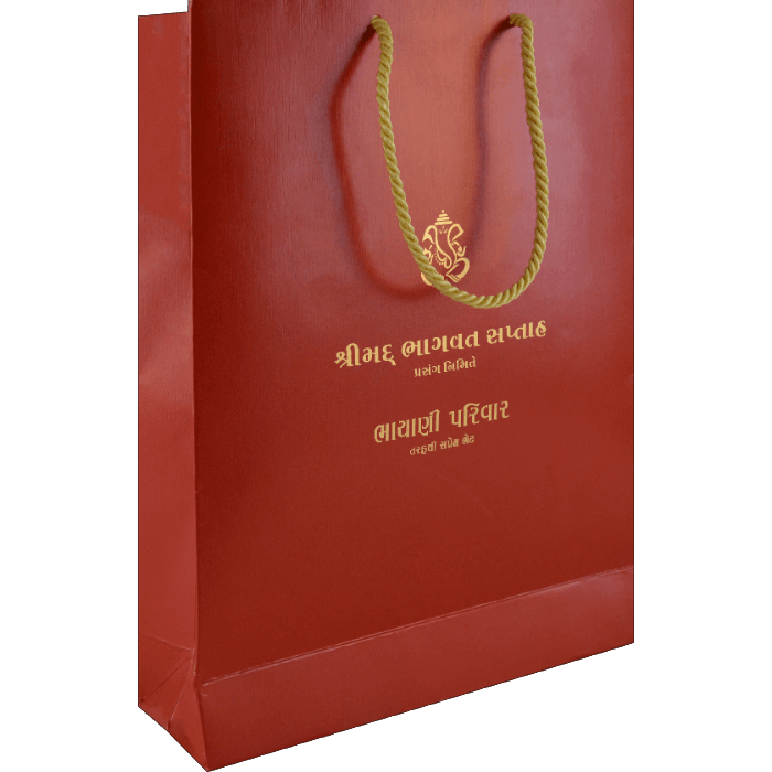test Paper Bags - CB-9123R