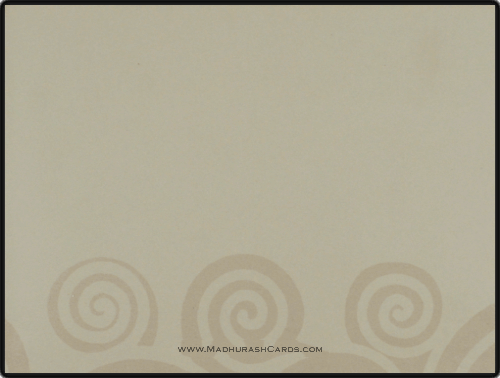 Sikh Wedding Cards - SWC-9045GCS - 4