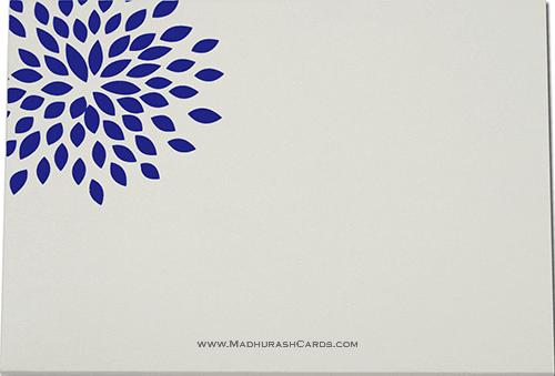 Custom Wedding Cards - CZC-9042BG - 4
