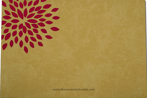 Sikh Wedding Cards - SWC-9042RGS - 4