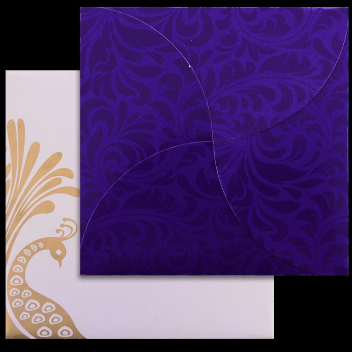 test Custom Wedding Cards - CZC-9050BC