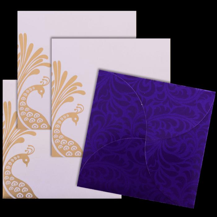 Custom Wedding Cards - CZC-9050BC - 4