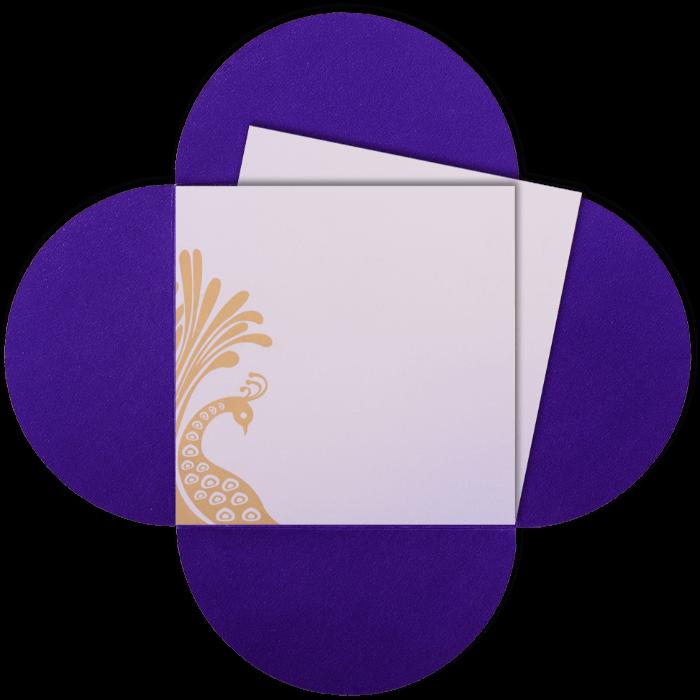 Custom Wedding Cards - CZC-9050BC - 5