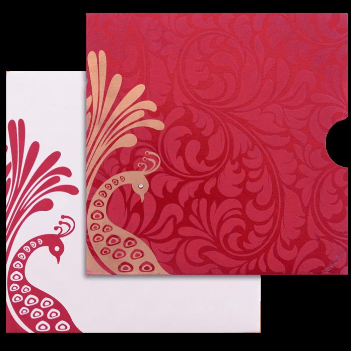 test Custom Wedding Cards - CZC-9053RC