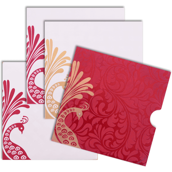 Custom Wedding Cards - CZC-9053RC - 4