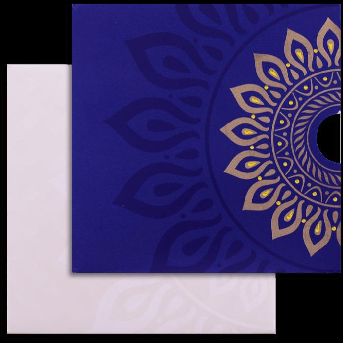 test Custom Wedding Cards - CZC-9054BC