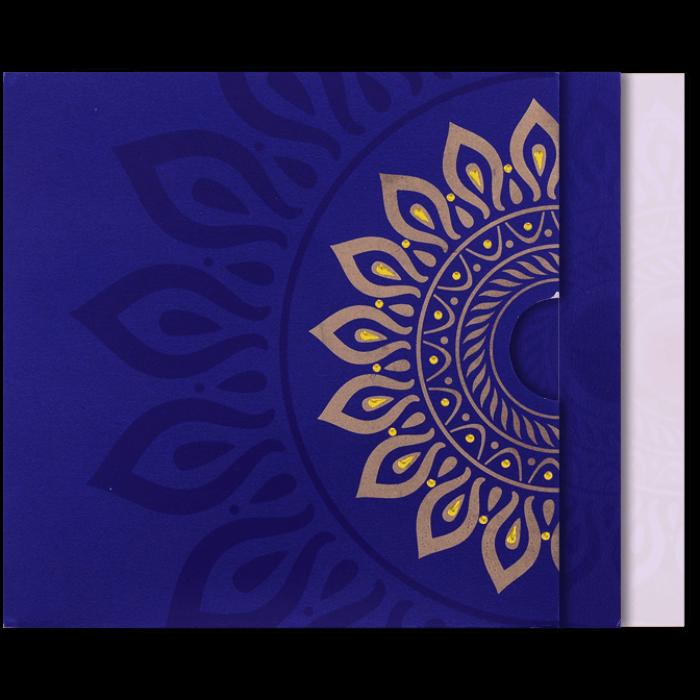 Custom Wedding Cards - CZC-9054BC - 5