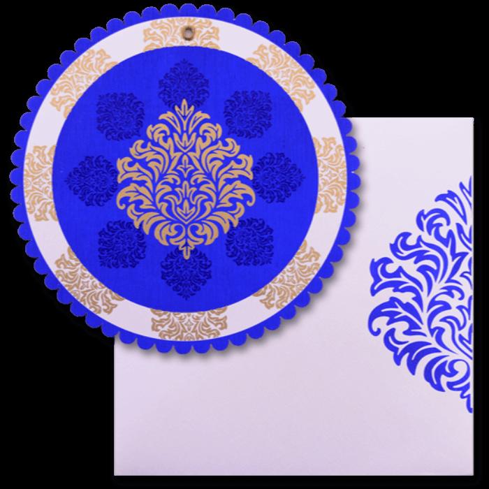 test Custom Wedding Cards - CZC-9060BC